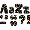 Poppin' Patterns® Designer Letters - Dots On Black