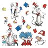 Dr. Seuss Bulletin Board Display Characters - 15 pieces