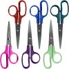 "Children's 5"" School Scissors - Pointed - Set Of 12"