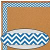 Blue Chevron Borders