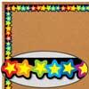 Rainbow Of Stars Border