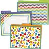 File Folder Storage Pocket Chart And Folders Set - Purple