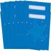 Star Folders, Blue - 2 Pocket - 12 Pack