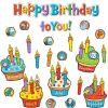 Dr. Seuss Happy Birthday To You! Mini Bulletin Board Set
