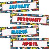 Superhero Monthly Headliners