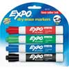 Expo Low Odor Chisel Markers 4 ct. - Assorted
