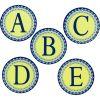 Blue Harmony Decorative Letters Bundle
