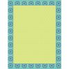 Blue Harmony Blank Charts - 5 charts
