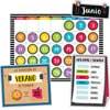 Bold And Bright Spanish Calendar Bulletin Board Set