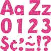 Hot Pink Sparkle Letters