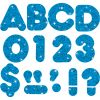 """Blue Sparkle 4"""" Casual Ready Letters®"""
