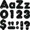 """Black Sparkle 4"""" Ready Letters®"""