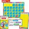 Spanish Annual Classroom Calendar - 106-piece set