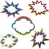 Super Power Bursts Cutouts
