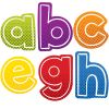 Super Power Alphabet Lowercase Letters Sticker Pack
