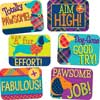 Plaid Attitude Success Stickers
