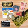 Hollywood Awards Night Bulletin Board Kit - multi-item kit