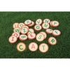 Excellerations® Wooden Alphabet Letter Rounds