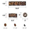 Industrial Café Morning Motivators Mini Bulletin Board Set