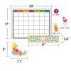 Simply Stylish Tropical Pineapple Calendar Bulletin Board Set