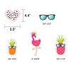 Simply Stylish Tropical Motivational Mini Bulletin Board Set