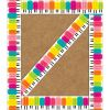 Simply Stylish Tropical Pops Border