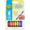 My First Crayola Washable Tripod Grip Crayons Stage 2 16 Ct