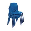 "Angeles® MyPosture™ Chair 14"" H - Set of 4 Blue"