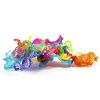 Super Slime™ 3 Pack - Clear Glass, Hot Pink, Electric Blue