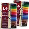 Sargent Art 24-Count Washable Fine Tip Markers - Set Of 2