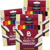 Sargent Art 8-ct. Classic Broad Tip Markers - 3 Boxes