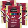 Sargent Art 24-Count Classic Fine Tip Markers - 2 Boxes