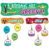 Birthdays Are Groovy Mini Bulletin Board Set