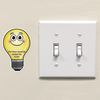 EZ Stick™ Turn Off The Lights Decals - English/Spanish - 26 decals