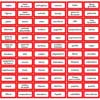 Early Childhood Classroom Labels Set - English/Spanish