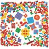 Translucent Geometric Shapes Learning Kit - 408 plastic shapes