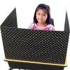 Chalkboard Brights Classroom Privacy Screen - 1 privacy screen