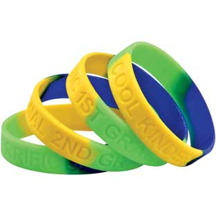Grade-Specific Welcome Bracelets - 24 bracelets for K, 1st, 2nd or 3rd Grade