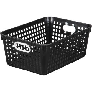 "Large Plastic Desktop Storage Baskets, 13¼"" by 10"" by 5½"" Single Basket – Available in 7 DifferentColors – Great For Your Home Storage or Classroom Needs"