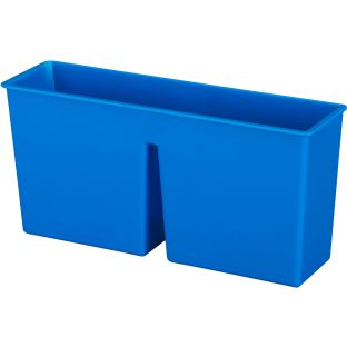 Plastic Magnetic Storage Bin  1 bin Color Blue by Really Good Stuff LLC