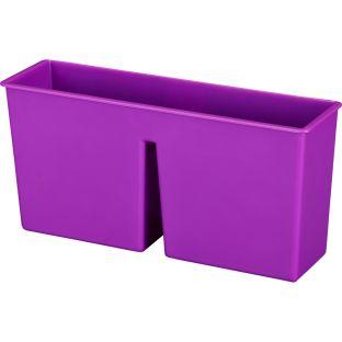Plastic Magnetic Storage Bin  1 bin Color Purple by Really Good Stuff LLC