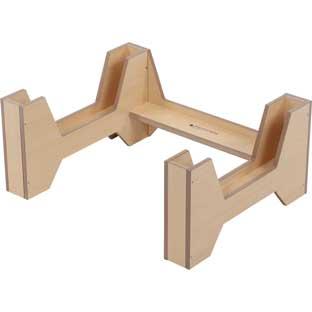Desk Riser - Oak