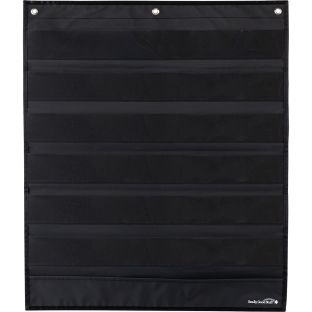 Medium Rectangle Pocket Chart  Black - 1 pocket chart