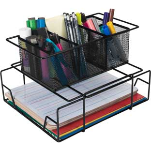 Group Materials Caddy Black