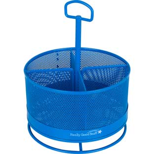 Revolving Supply Organizer  Blue