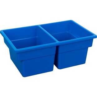 Two-Compartment All-Purpose Bin  Single - 1 bin