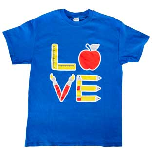Love of Teaching T-Shirt