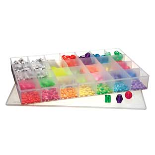 28 Compartment Plastic Storage Case