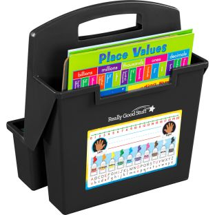 On-The-Go Caddies With Primary Self-Adhesive Vinyl On- The-Go Helpers