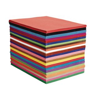 Heavyweight Construction Paper Pack - 50 Sheets